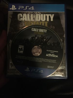 Call of duty world war 2 for Sale in Forest Park, GA