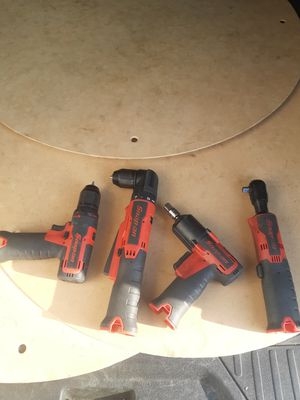 Snap on 14v series power tools( tool only) for Sale in Missouri City, TX