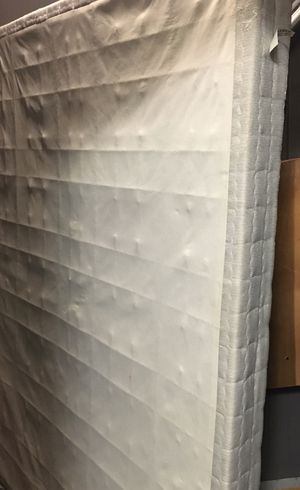 Free full size box spring for Sale in Worcester, MA