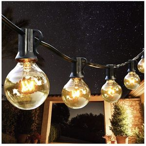 Outdoor String Lights 100ft Patio Lights with 100 Dimmable Waterproof G40 Bulbs (10 Spare) Connectable Globe String Lights for Party Tents Gazebo Porc for Sale in Phoenix, AZ