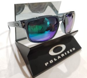 Oakley Holbrook Sunglasses Smoke Blue / Green Polarized 9102-22 USA 55-18 for Sale in Norwalk, CA