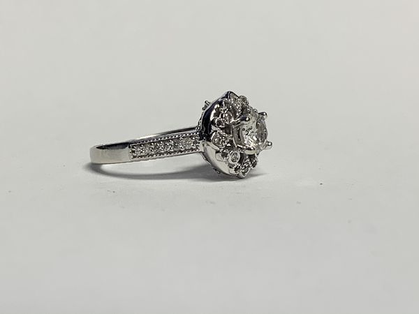 Ladies 1/2ctw Diamond 14k YG Wedding Ring Sz 5.25