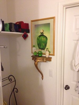 Accent picture with antique shelf $10 for Sale in Phoenix, AZ
