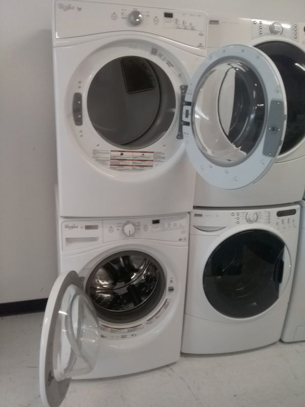 Whirlpool washer and dryer used good condition 90days warranty