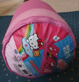 Used once Hello Kitty Sleeping Bag for Sale in Arlington, TX