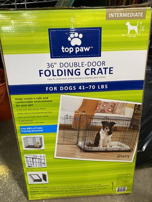 Top paw crate for Sale in Chicago, IL