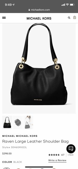 Michael Kors Raven Purse for Sale in Los Angeles, CA