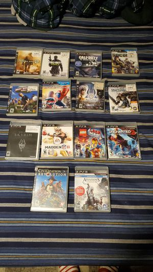 14 ps3 games for Sale in Tumwater, WA