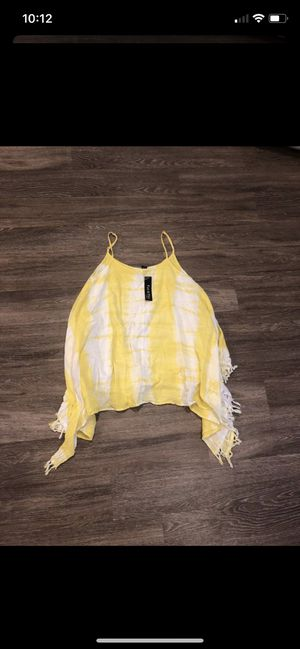 Yellow tie dye dress for Sale in Phoenix, AZ