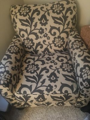 Living room chair and couch. Slightly worn no spots . Couch dips slightly in the middle.But it's $100 for both pieces. for Sale in Ashburn, VA