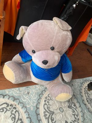 Teddy bear large for Sale in Chantilly, VA