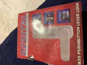Digital DOOR LOCK for Sale in Phoenix, AZ