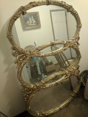 Gold Mirror 3 circles for Sale in Flat Rock, MI