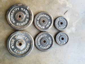 120lb Standard weight set - read description for Sale in South Gate, CA