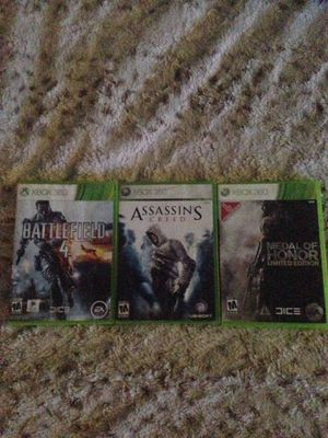 Xbox 360 games for Sale in Woden, IA