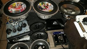 Car audio lot. Subs,speakers,amps for Sale in Tacoma, WA