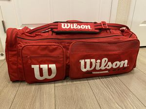 Wilson sports duffle bag for Sale in San Diego, CA