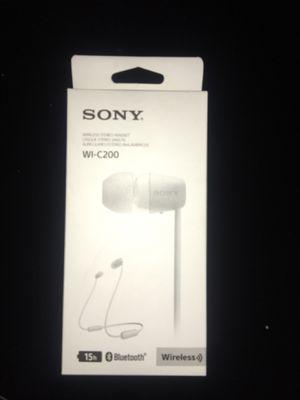 Sony wireless stereo headset for Sale in Chandler, AZ