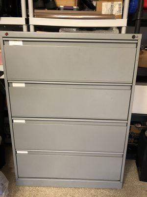 KI 4-drawer Lateral File Storage Cabinet for Sale in Orange, CA