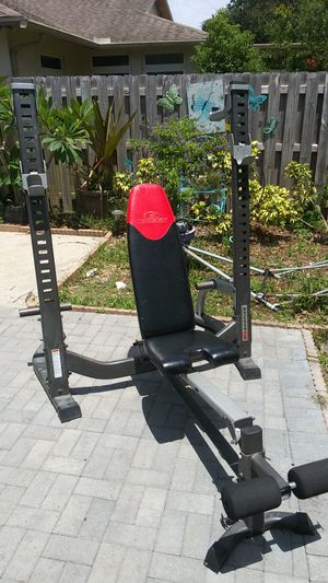 Bowflex adjustable free weight bench for Sale in Clearwater, FL