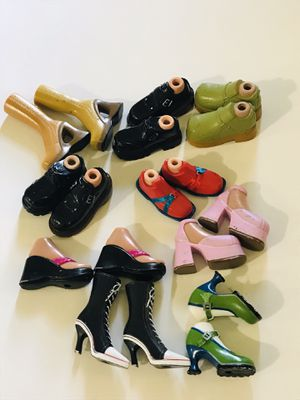 Bratz dolls shoes for Sale in Rockport, IN