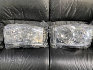 Dodge Ram 2006-2008 chrome clear headlights for Sale in Montclair, CA