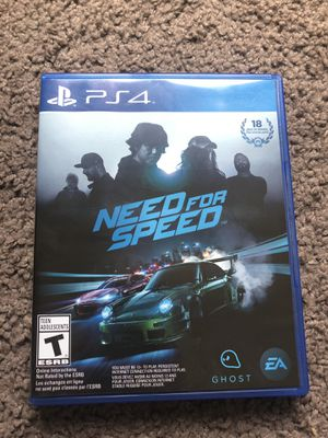 Need for speed PS4 for Sale in Grand Terrace, CA
