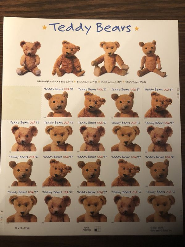 Teddy Bear Stamps