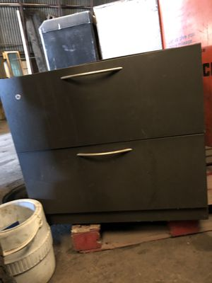 File cabinets desks and other office furniture for Sale in Modesto, CA