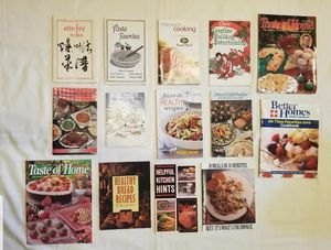 Set of 14 Cookbooks And Cooking Guides for Sale in Lexington, SC