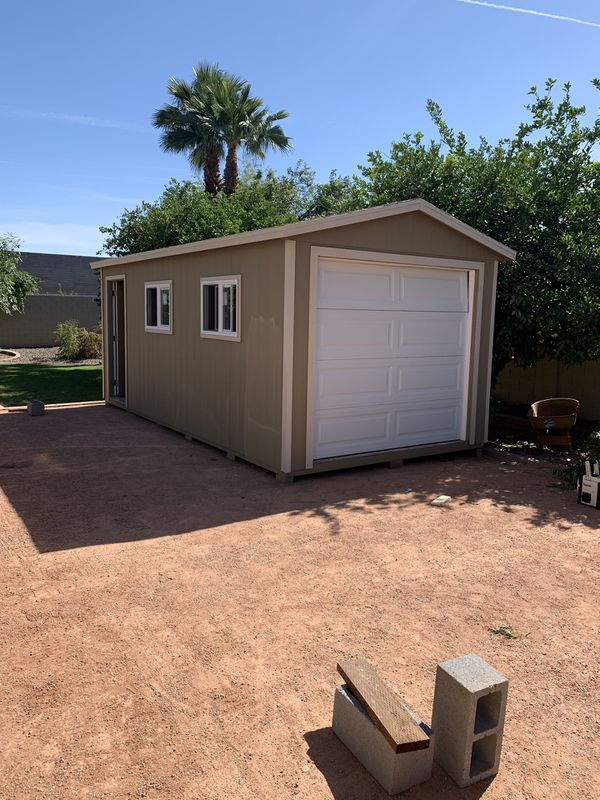 Custom Built Wood Sheds Sale Or Trade For Sale In Mesa Az