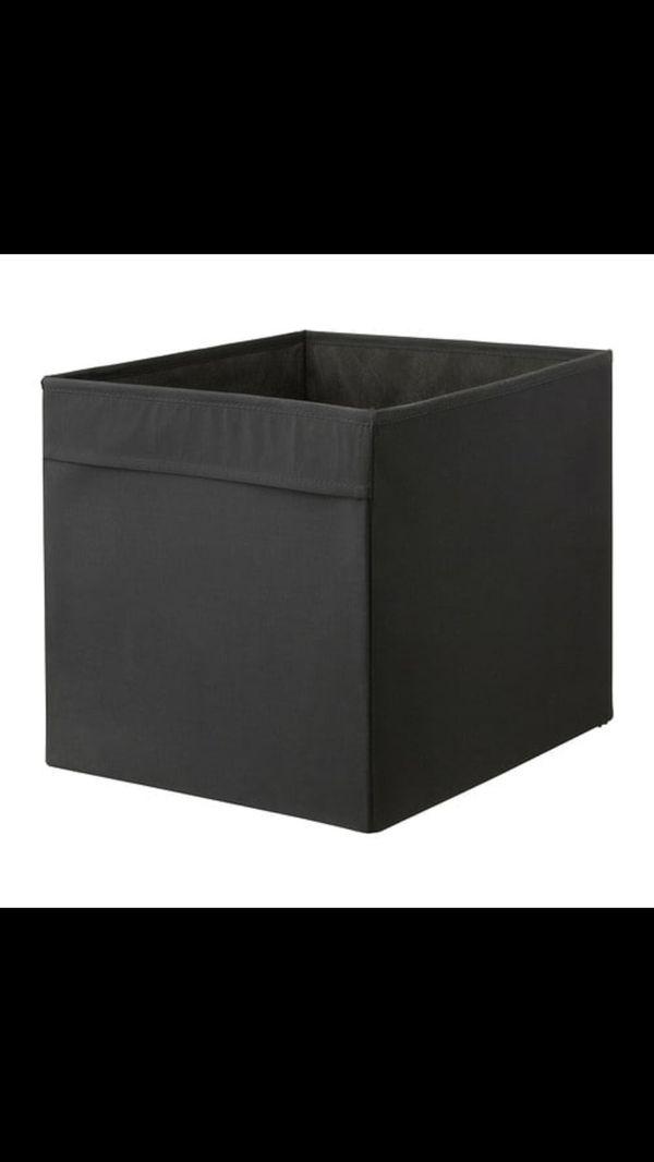 Black dröna box inserts / cabinet inserts