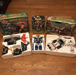 Mighty morphin power rangers toys for Sale in Thompson's Station, TN