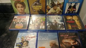 Brand new blu ray DvDs sealed for Sale in Baldwin Hills, CA