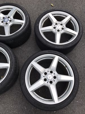 AMG rims and tires for sale for Sale in McLean, VA