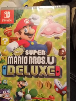 Nintendo Switch New Super Mario Bros. U Deluxe for Sale in Troutdale,  OR