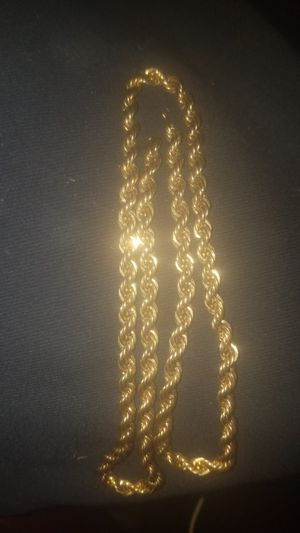 10k gold rope chain for Sale in Mesa, AZ