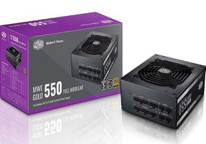 Cooler Master MPY-5501-AFAAG-US MWE 550 Gold Full Modular, 80+ Gold Certified 550W Power Supply for Sale in Marietta, GA