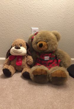 Holiday Bear & Pup for Sale in Kent,  WA
