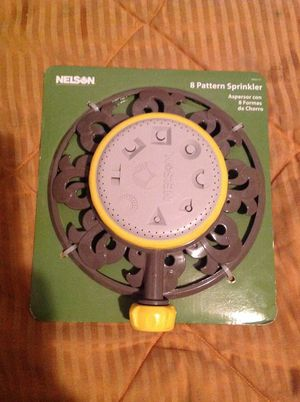 Nelson 8 pattern sprinkler for Sale in St. Louis, MO