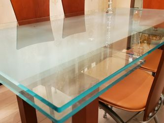 Dining Room Table Glass Top for Sale in Brooklyn,  NY