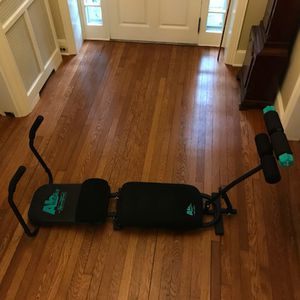 Abworks by Nordictrack w/ weight kit and owner's guide for Sale in Philadelphia, PA