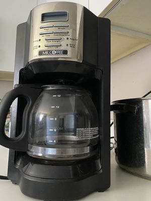 Mr Coffee, 12 cup Programmable Coffee Maker for Sale in Boston, MA
