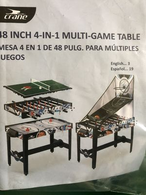 48inch 4-1 game table MUST SELL for Sale in Port St. Lucie, FL