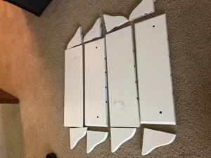 4 white wall shelves for Sale in Seattle, WA