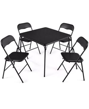 Folding Card Table & Chairs for Sale in Penn Laird, VA