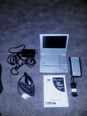 "7"" Portable Cyberhome DVD Player in Excellent condition for Sale in Alhambra, CA"