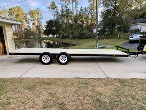 5 1/2' x 20' homemade trailer $1600 obo for Sale in Ocala, FL