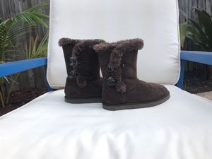 JUST REDUCED: Girls Boots - Size 13 in Brown for Sale in Miami, FL
