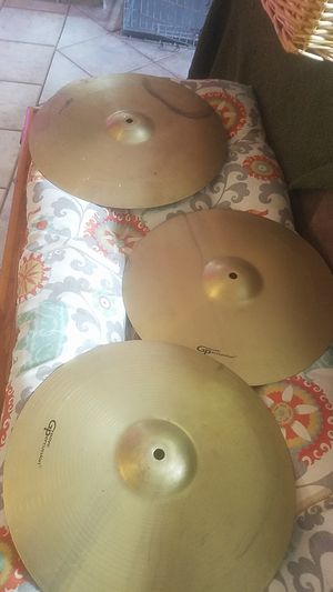 """Groove percussion cymbols 16"""" and 14"""" for Sale in Clearwater, FL"""